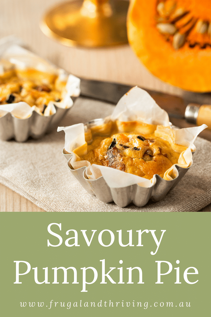 delicious savoury pumpkin pie