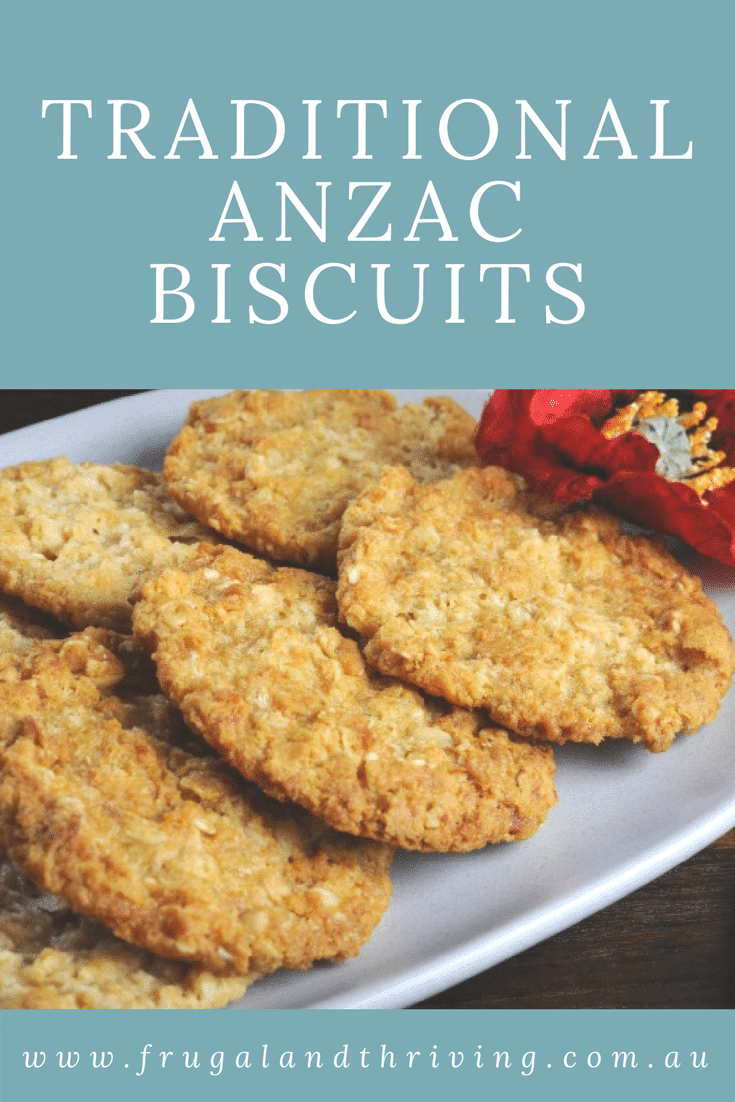 Easy to make and delicious to eat all year round, Anzac biscuits are great for lunchboxes as well as a morning tea with a cuppa. #baking #Australianrecipes