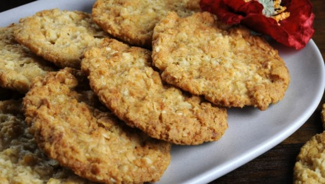 an old-fashioned Anzac biscuit recipe