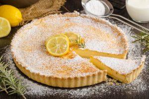 Lemon Tart: A delicious frugal dessert