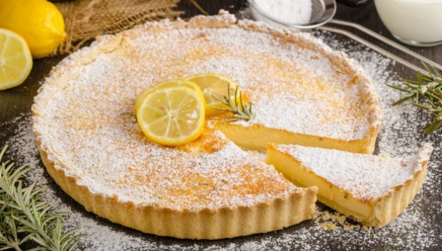Lemon Tart: A delicious frugal dessert