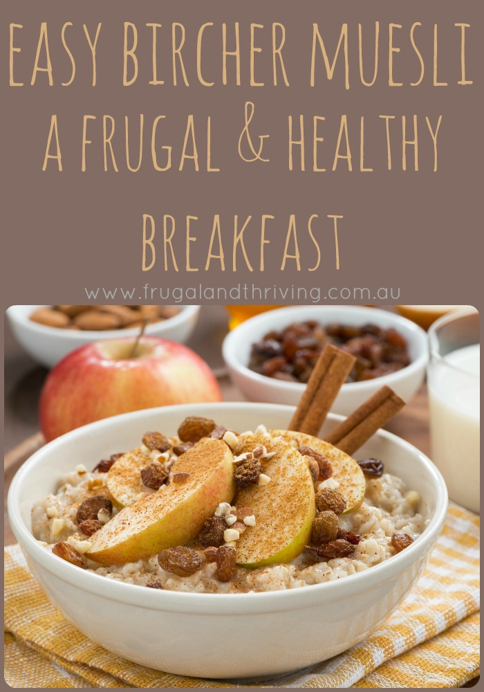 easy bircher muesli