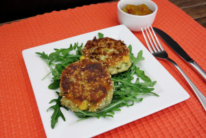 rice and vegetable patties