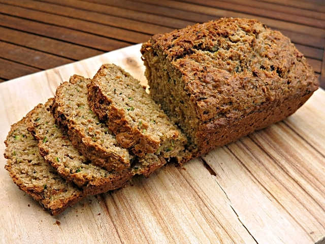 spiced wholemeal Zucchini Bread