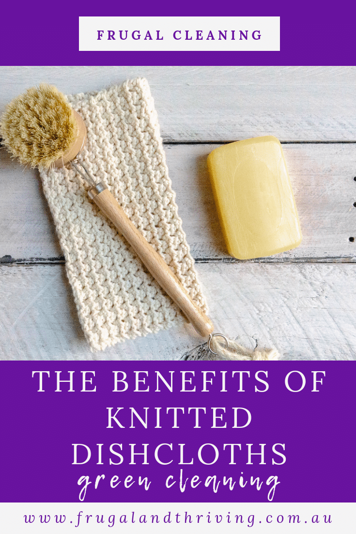 Why Use Knitted Dishcloths – More Benefits than Reducing Disposables