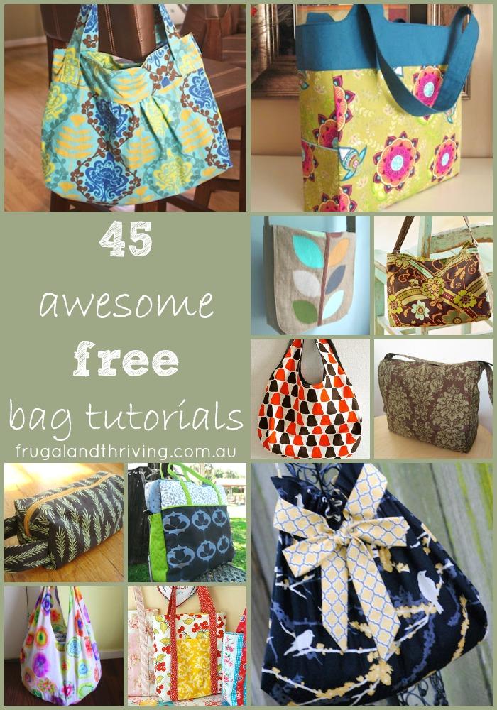 45 Awesome Free Bag Making Tutorials 7a8dec29c67a0