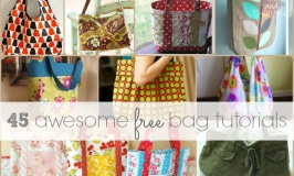 45 awesome free bag tutorials