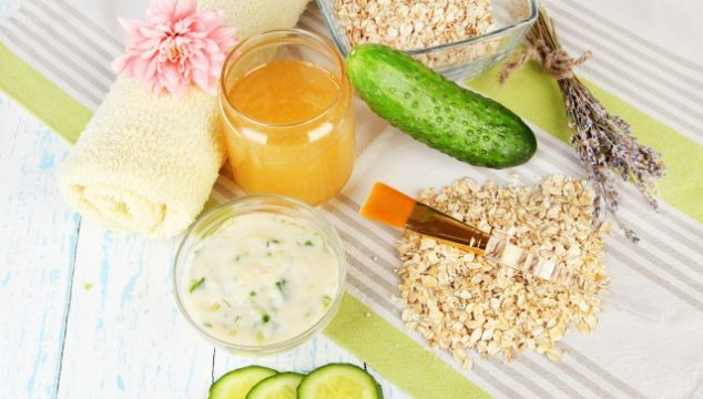 Natural homemade face mask ingredients