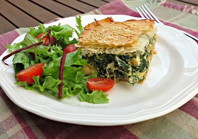 seasonal eating – silverbeet and mushroom pie