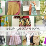 48 + Free Skirt Tutorials
