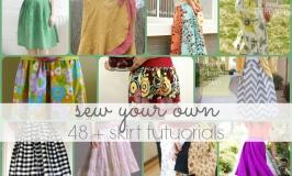 48 + skirt tutorials