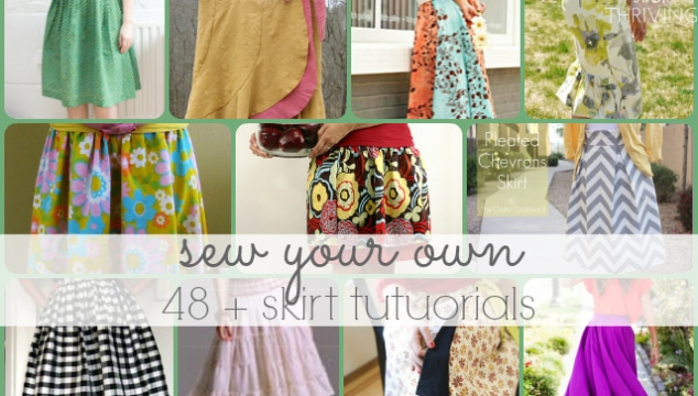 free skirt tutorials