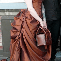 Bustle Skirt by Bones and Lillies