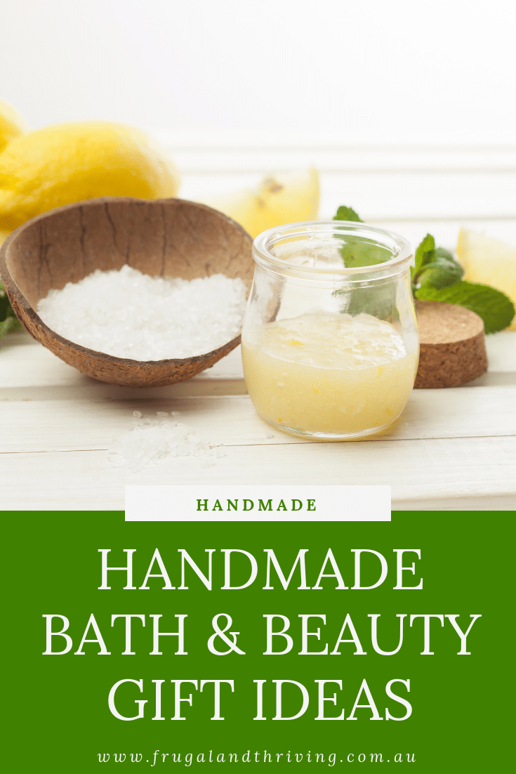Handmade Bath and Beauty Gift Ideas