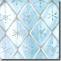 beaded snowflakes