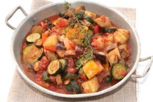 easy ratatouille with zucchini