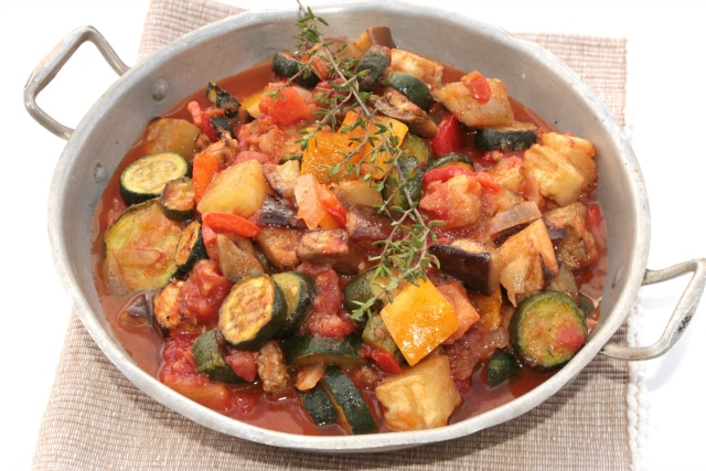 easy ratatouille with zucchini