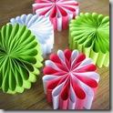 paper flower ornaments