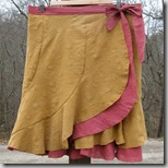 yellowwrapskirt
