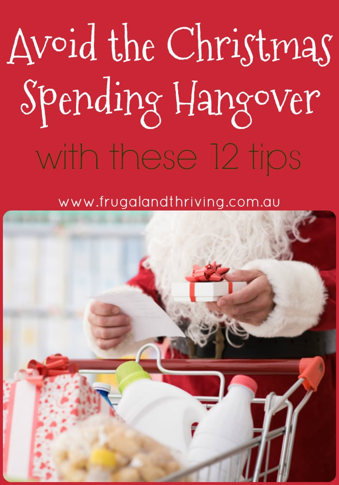Don\'t go into debt at Christmas. Here are 12 tips for saving money at Christmas, finding extra cash and celebrating Christmas while avoiding the debt. #frugalchristmas #budgetchristmas
