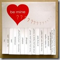 Be Mine Notes