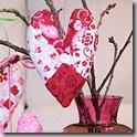 valentine heart sachets
