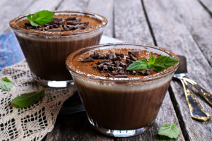 Chocolate Mousse budget dessert