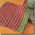 Knit a ballband dishcloth