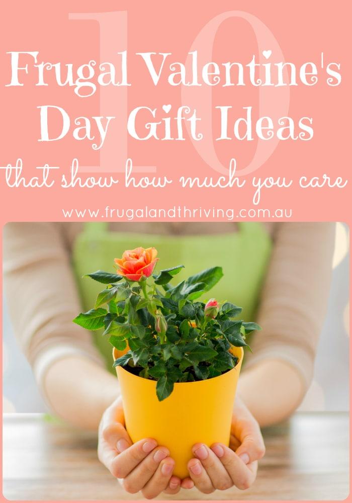 Frugal Valentine's Day Gift Ideas