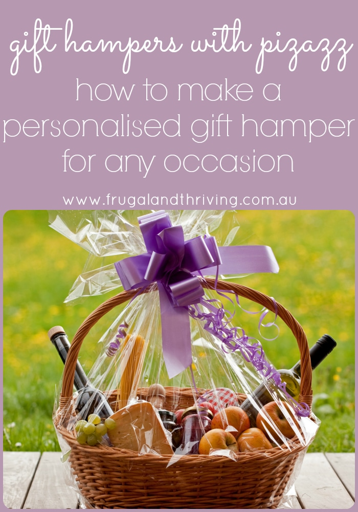 How to make a personalised gift hamper for any occasion how to make a personalised gift hamper negle Image collections