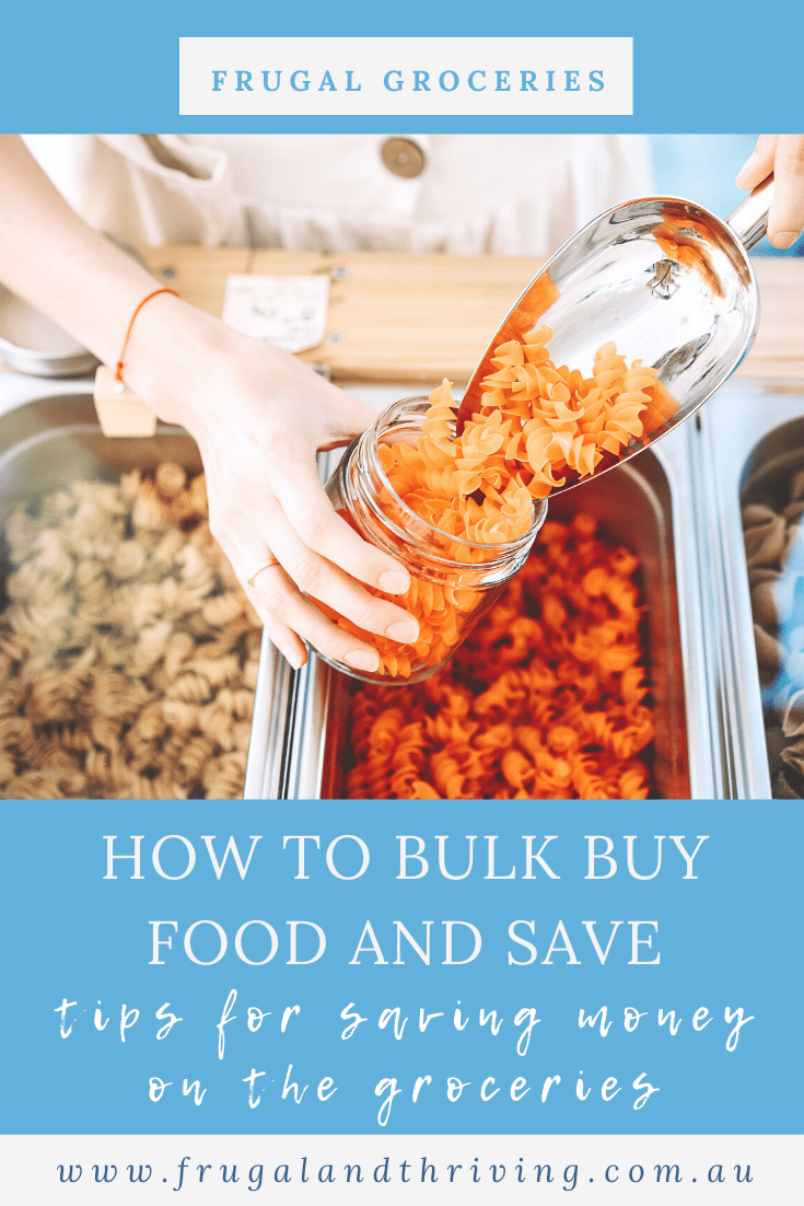 How to Bulk Buy Food And Save Money on the Groceries