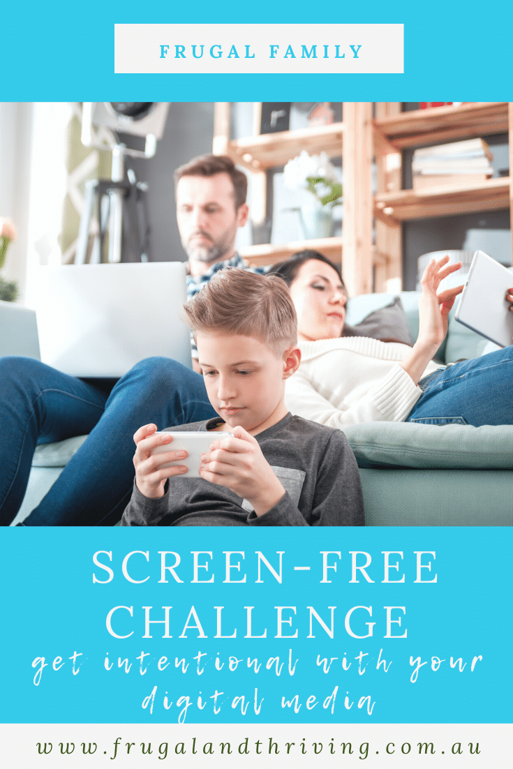 Unplugged – How to Have a One-Month Screen-Free Challenge
