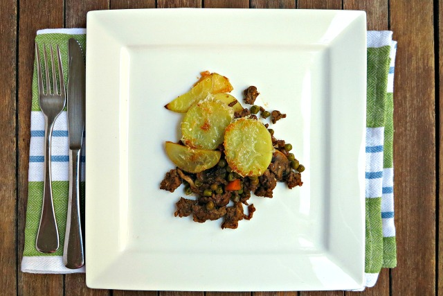 Crispy Potato Topped Cottage Pie
