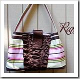 Ruffles Handbag by How Joyful | Bag Tutorial Roundup | Frugal and Thriving