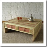 coffee-table esprit cabane