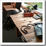 Pallet Farm Desk by Funky Junk Interiors | Upcycled Pallet Ideas Roundup | Frugal and Thriving