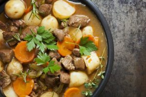 Slow Cooked Lamb Neck Stew