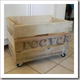 Pallet Crate on Wheels by My Simple Home Life   Upcycle Pallet Ideas   Frugal and Thriving