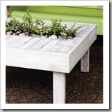 Patio Table by Today's Nest | Upcycle Pallet Ideas | Frugal and Thriving