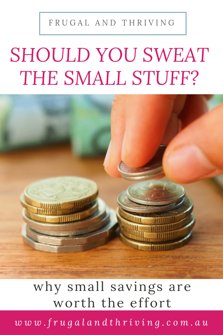 why you should pay attention to small savings