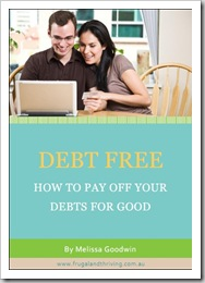 debt free and thriving–a free ebook on getting out of debt