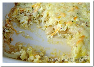 rice and cabbage casserole