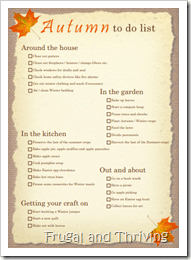 Things to do in autumn