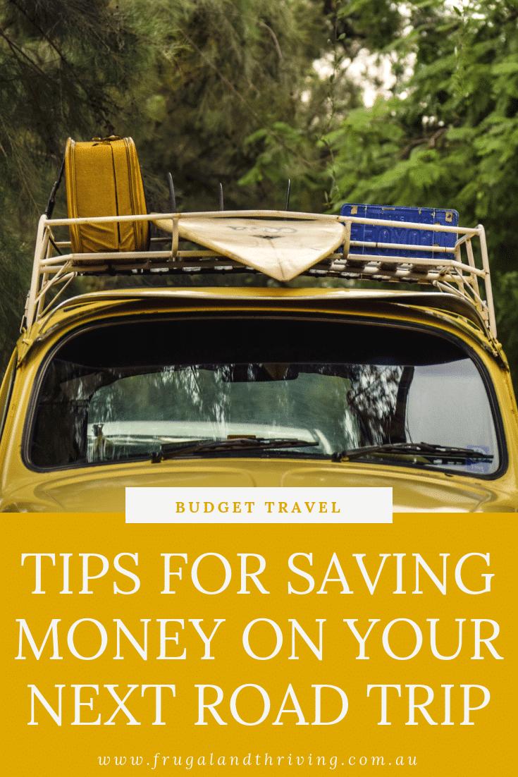 budget road trip tips