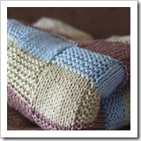 squares baby blanket