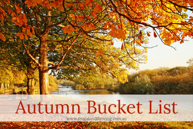 Autumn Bucket List: Things to Do in Autumn
