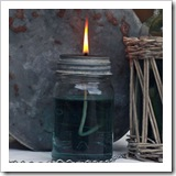 jar oil lamp