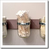 mason jar hanging storage