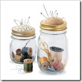 pin jar with pin cushion lid