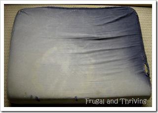 old cushion
